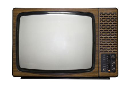 Old fashioned retro tv Stock Photo - 2455970