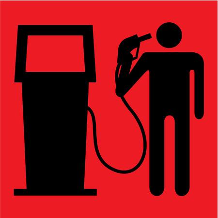 Suicide fuel prices Stock Vector - 3089364