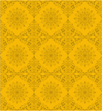 Retro ornamental tile Illustration