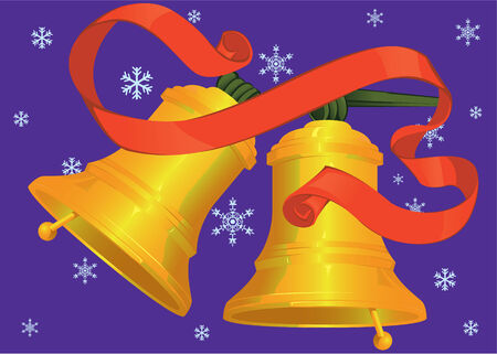 church bell: Christmas bells