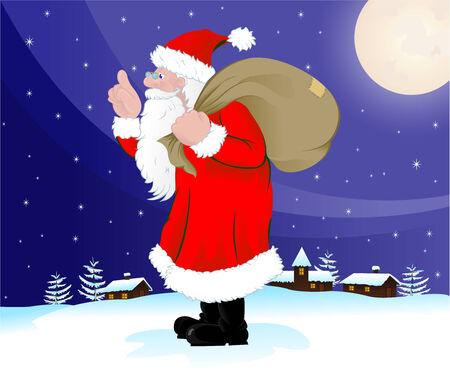 Santa Claus Stock Vector - 3766922