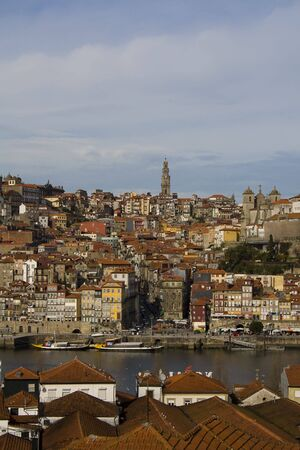 View from Oporto city in Portugal Stock Photo - 4085352