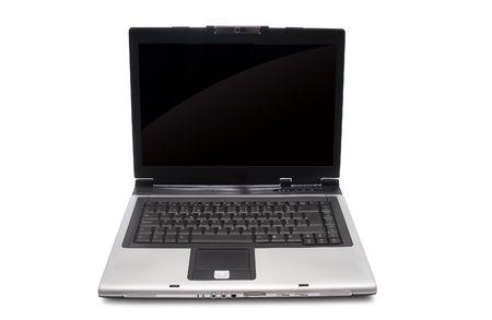 Laptop isolated on white background Stock Photo - 4264193