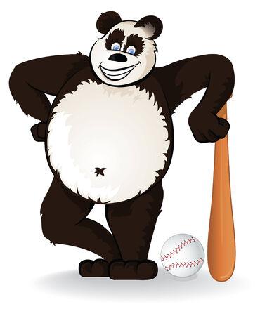 giant panda: Baseball Panda