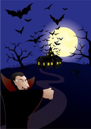 hunted: Casa cazaban los vampiros  Vectores