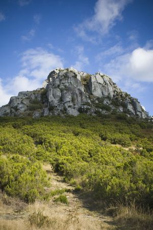 Caramulo Mountain in the center of Portugal   photo
