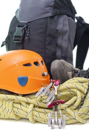 bergbeklimmen: Bergbeklimmers uitrusting