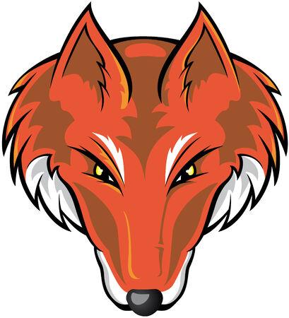 zorro: Fox cabeza
