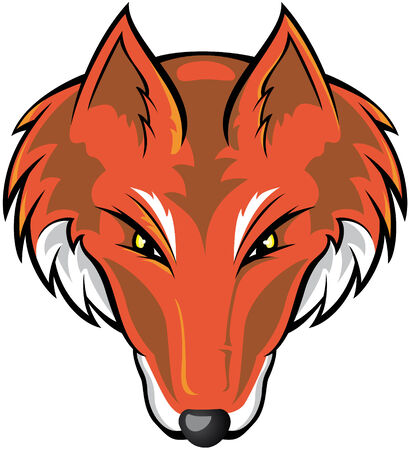 foxes: Fox Head