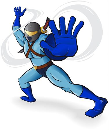 heros: Futuristic warrior