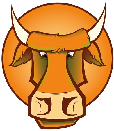 Mad Cow Stock Vector - 10393911