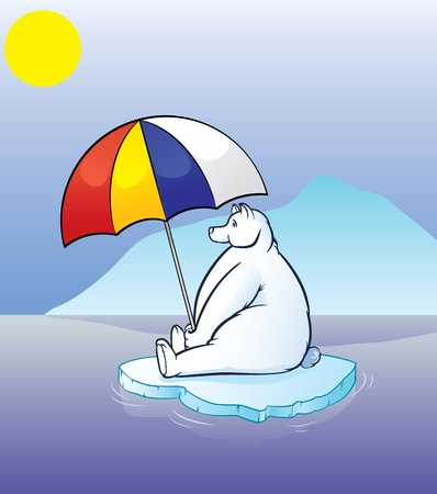 Polar Bear Stock Vector - 10616603