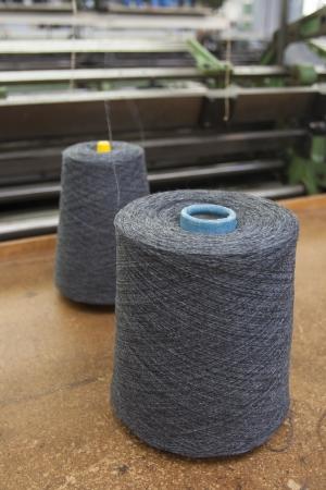 Textile Production - Weaving photo