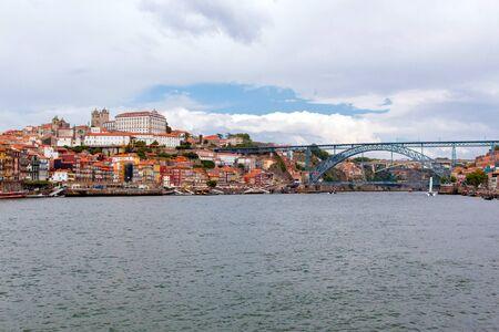 Panoramic of Porto city, Portugal Stock Photo