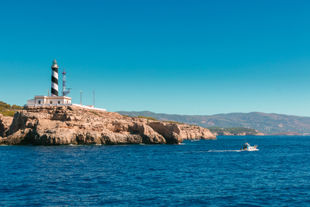 hollidays: Cap Cala Figuera in Palma of Majorca, Spain Stock Photo