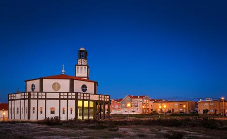 Costa Nova do Prado by night Portugal
