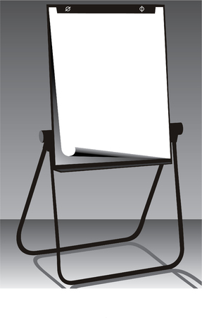 Write what you want to write on the board Vector