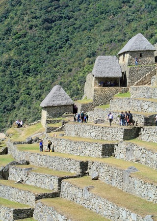 archaeological site: Machu Picchu, Peru - archaeological site Editorial