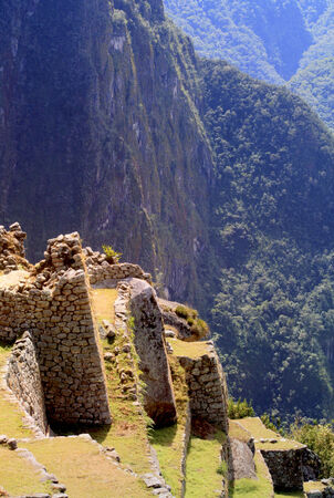 pre columbian: Machu Picchu, Peru - archaeological site Editorial