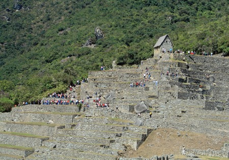 archaeological: Machu Picchu, Peru - archaeological site Editorial
