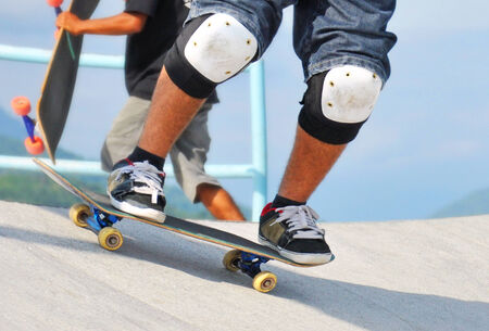 style advice: Skater Stock Photo