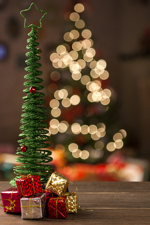 christmas decoration background. Christmas Blurry Stock Photo - 51086645