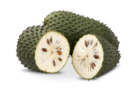 prickly: Sour sop, Prickly Custard Apple. (Annona muricata L.) Treatment of cancer.