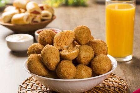 brazilian: Brazilian snack. chicken drumstick