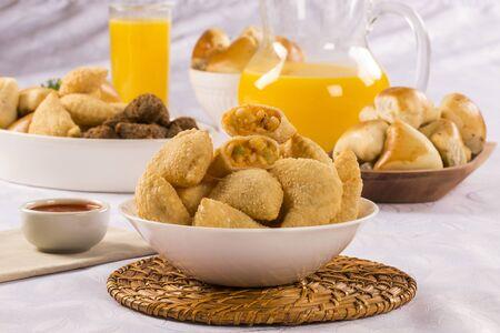 palmetto: Brazilian snack. Palmetto pastry.