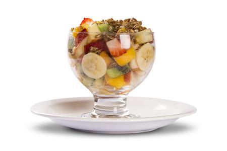 mixed fruits: mixed fruits salad.