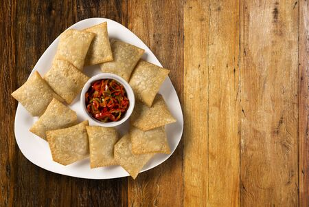 codfish: Codfish pastry with pepper.