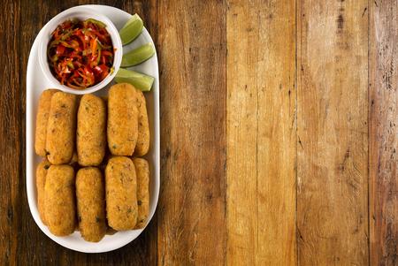bacalao: salt cod fritters, bolinho de bacalhau,pasteis de bacalhau,bunuelos de bacalao