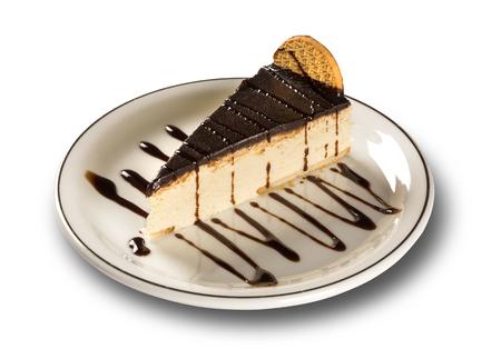 Souffle with chocolate. Dutch Pie.