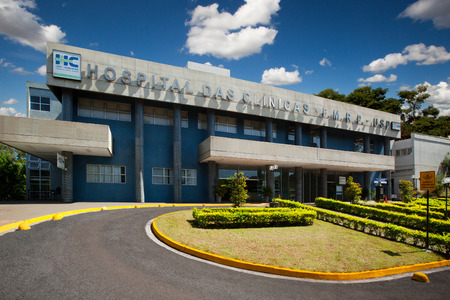 Hospital in Sao Paulo University in Ribeirao Preto - Brazil. July, 2017. HC