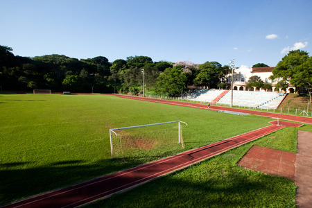 Sao Paulo University in Ribeirao Preto - Brazil. July, 2017