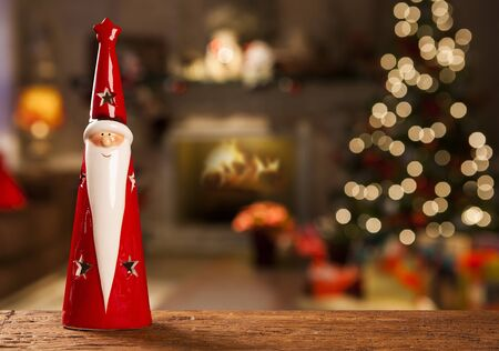 christmas decoration background.