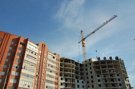 construction crane Stock Photo - 550073