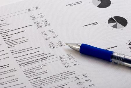 business report Imagens