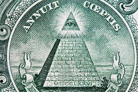 dollar pyramid macro 스톡 콘텐츠
