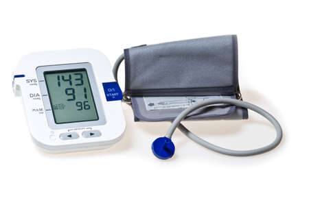 Automatic digital blood pressure monitor photo
