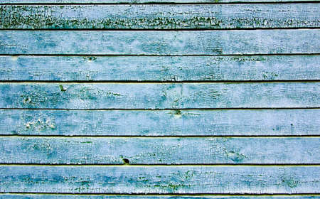 craked: rough old blue wooden craked wall
