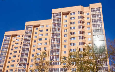 city  view - apartment building Stock Photo - 4585415