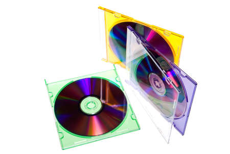 compact disk: compact disk in box