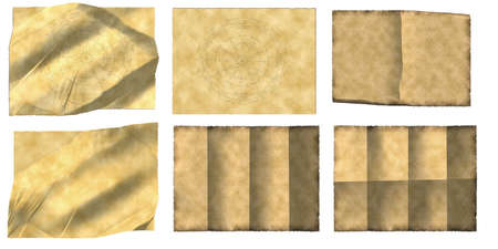 Vintage papers backgrounds collection set Stock Photo - 5113225
