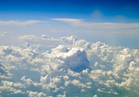 Sky and clouds , aerial view Stock Photo - 5606134