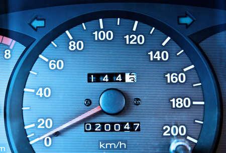 metering: Car odometer