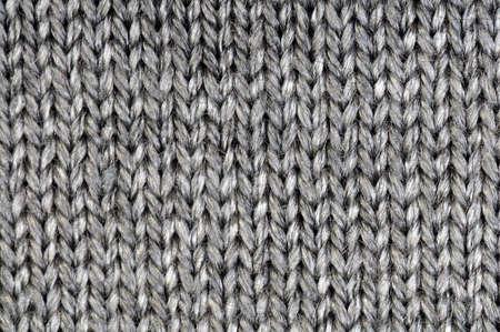 La texture de la laine gris ou de fond Banque d'images - 5994727