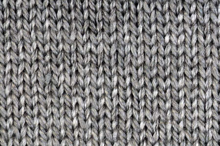 gray wool texture or background Archivio Fotografico