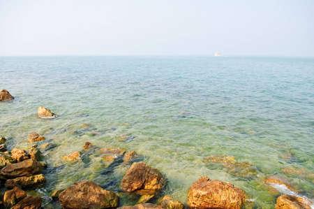 Dreamy sea under blue sky. Thailand photo