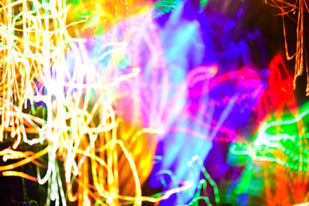 multicolor bokeh moving blur background christmas lights stock photo 60150746
